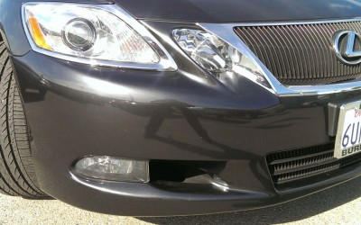 Car touch up - Lexus-ES350-front-bumper - After touch up