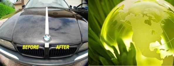 Waterless car wash is real and it works!