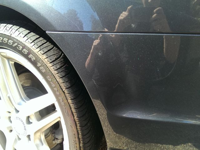 Mercedes-Benz C230 Gray BumperScrape Damage - After