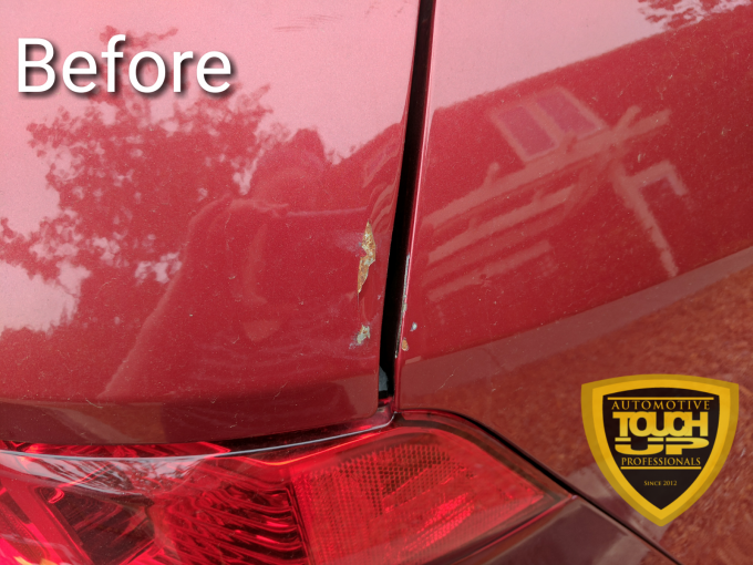 Addressing Rust with Car Touch Up
